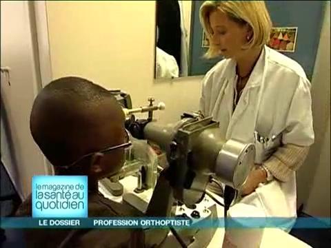 L'orthoptiste, le kinésithérapeute des yeux?