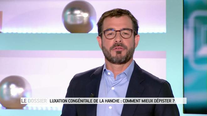 Benoît Thevenet et Régis Boxelé expliquent la luxation congénitale de la hanche