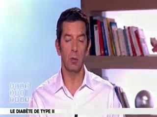 Marina Carrère d'Encausse et Michel Cymes expliquent le diabète de type II.