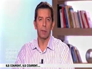 Le mécanisme de la course : explications de Michel Cymes et Marina Carrère d'Encausse