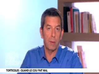 Marina Carrère d'Encausse et Michel Cymes expliquent le torticolis