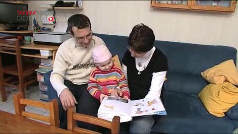 Témoignage des parents d'Eugénie atteinte d'une tumeur au cerveau