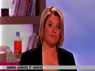 Michel Cymes et Marina Carrère d'Encausse expliquent le fonctionnement des veines