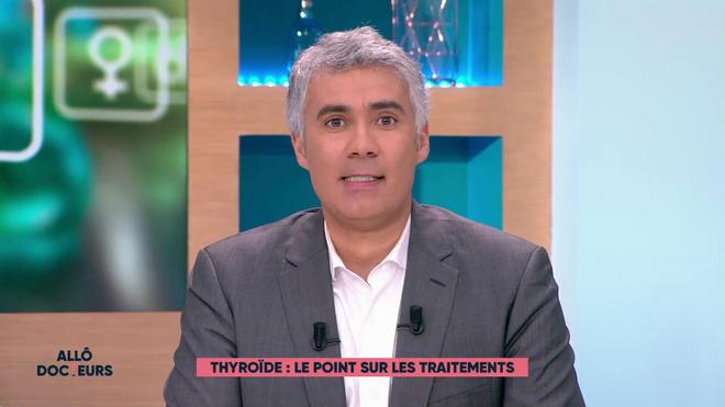 Benoît Thevenet et Régis Boxelé expliquent la thyroïde