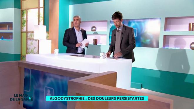 Régis Boxelé et Philippe Charlier expliquent l'algodystrophie