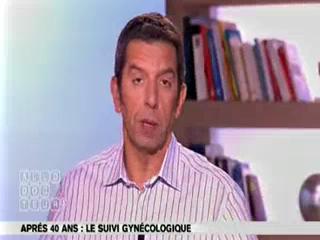 Marina Carrère d'Encausse et Michel Cymes expliquent la pré-ménopause.
