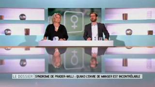 Marina Carrère d'Encausse et Benoît Thevenet expliquent le syndrome de Prader-Willi