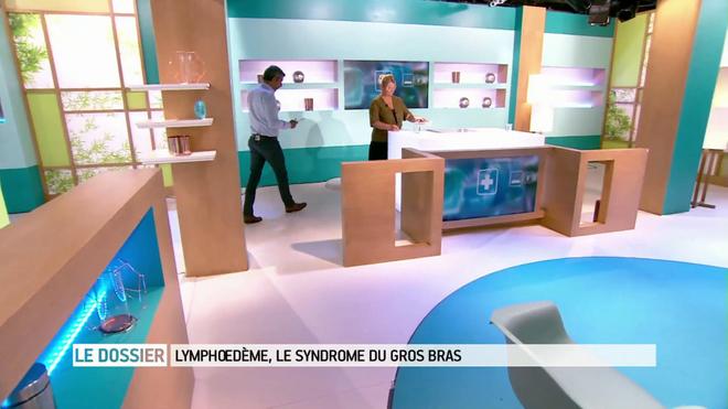 Le lymphoedème expliqué par Marina Carrère d'Encausse et Michel Cymes