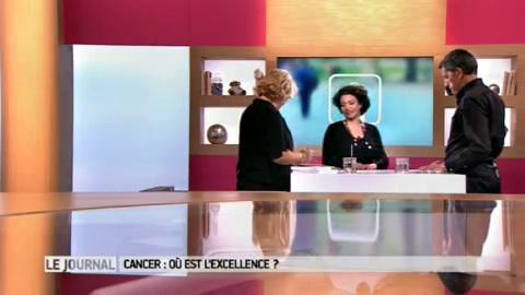 Réponses sur les hôpitaux qui soignent le mieux le cancer avec la journaliste Annabel Benhaiem.