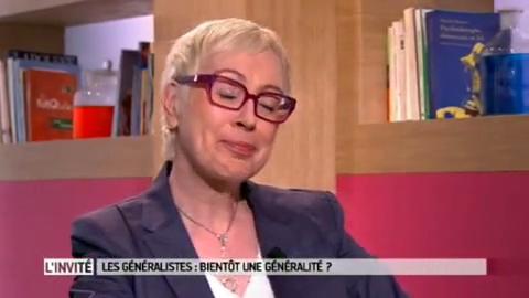 Elisabeth Hubert répond aux questions de Marina Carrère d'Encausse et de Michel Cymes.