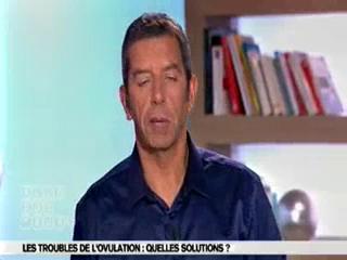 Marina Carrère d'Encausse et Michel Cymes expliquent les troubles de l'ovulation.