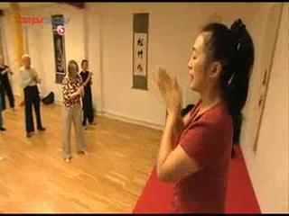 Cours de Qi-gong dans un centre de culture chinoise