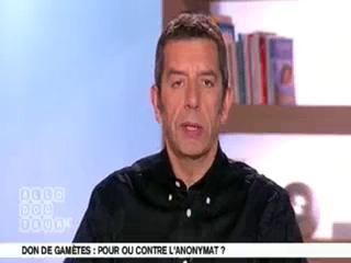 Marina Carrère d'Encausse et Michel Cymes expliquent le don de gamètes.