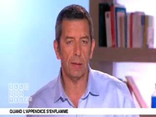 Michel Cymes et Benoît Thevenet expliquent l'appendicite.