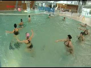 Cours d'aquagym pour femmes enceintes