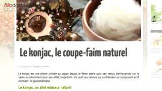 Le konjac, une plante pour éliminer les kilos superflus