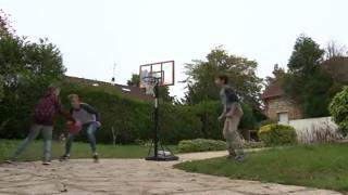 Justin, 12 ans, a vu ses rêves de basket et de compétition perturbés par la maladie