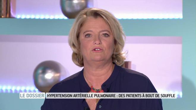 Marina Carrère d'Encausse et Philippe Charlier expliquent l'hypertension artérielle pulmonaire