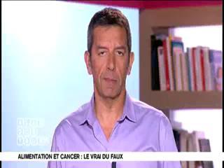 Marina Carrère d'Encausse et Michel Cymes expliquent l'influence de l'alimentation sur la santé.