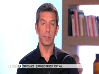 Marina Carrère d'Encausse et Michel Cymes expliquent la maladie d'Osgood-Schlatter.