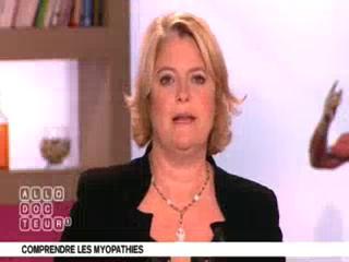 Marina Carrère d'Encausse et Michel Cymes expliquent les myopathies.