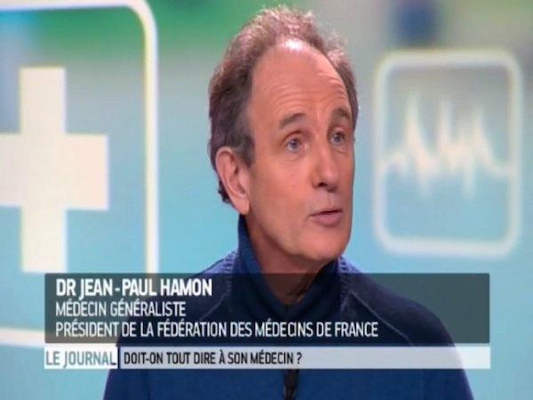 Dr Jean-Paul Hamon, médecin généraliste, président de la Fédération des médecins de France