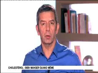 Marina Carrère d'Encausse et Michel Cymes expliquent les effets du cholestérol lorsqu'il est en excès dans le sang.