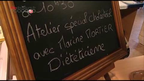 Apprendre à se faire plaisir malgré son cholestérol, tel est l'objectif des ateliers cuisine.