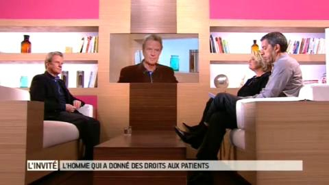 Entretien avec Bernard Kouchner, ancien ministre, invité dans Le magazine de la santé du 9 mars 2012.