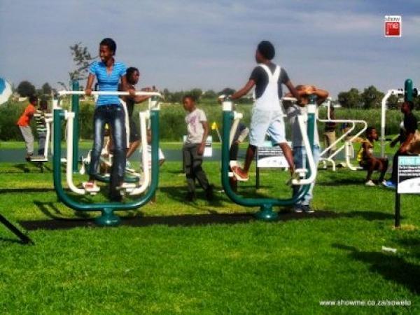 Fitness en plein air ©Pulane Tladi of Showme Soweto