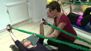 Les cours de Rose Pilates offrent un moment de détente et de convivialité