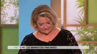 Démonstrations et explications avec Delphine Le Porquier de Vaux, kinésithérapeute