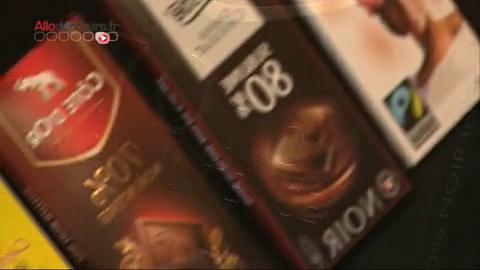 Quels sont les ingrédients de base d'une tablette de chocolat noir ?