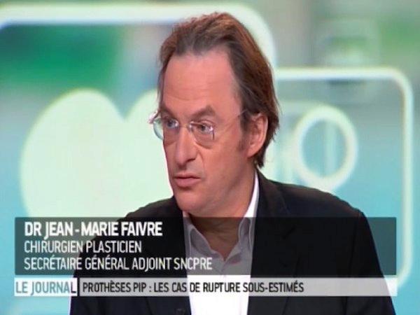 Dr Jean-Marie Faivre, chirurgien plasticien