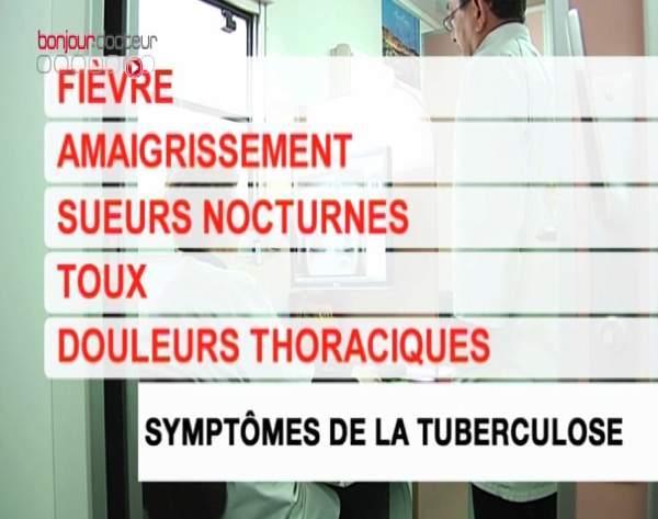 Les symptômes de la tuberculose