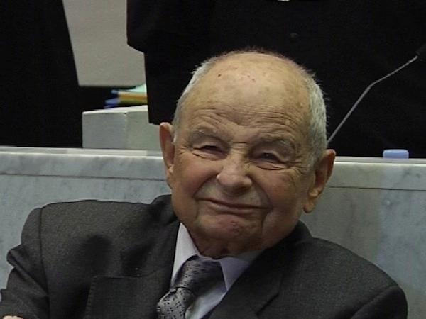 Jacques Servier au premier jour de son procès à Nanterre