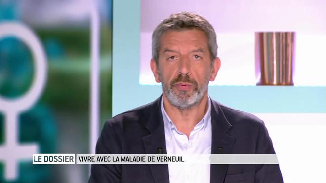 Marina Carrère d'Encausse et Michel Cymes expliquent la maladie de Verneuil