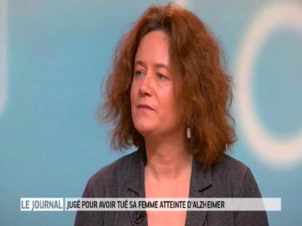 Judith Mollard, psychologue de l'association France-Alzheimer