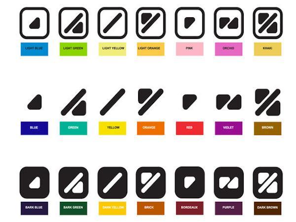 ColorADD, l'alphabet des couleurs pour les daltoniens