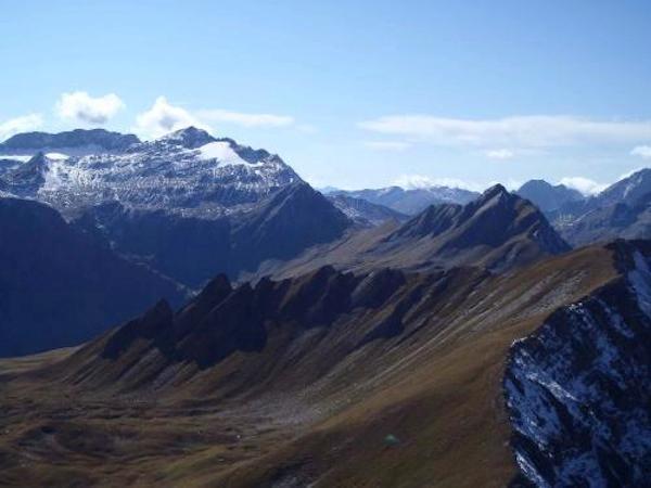 Ultra-Trail 2012 - Vers le Sud en direction du Col Chavanne