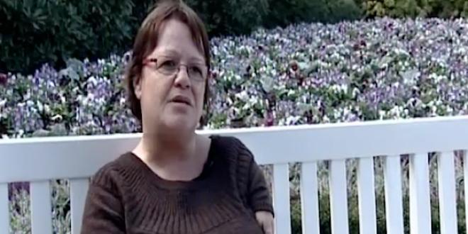 Martine Olivier, porte-parole de l'association Victimes de la thalidomide de Belgique