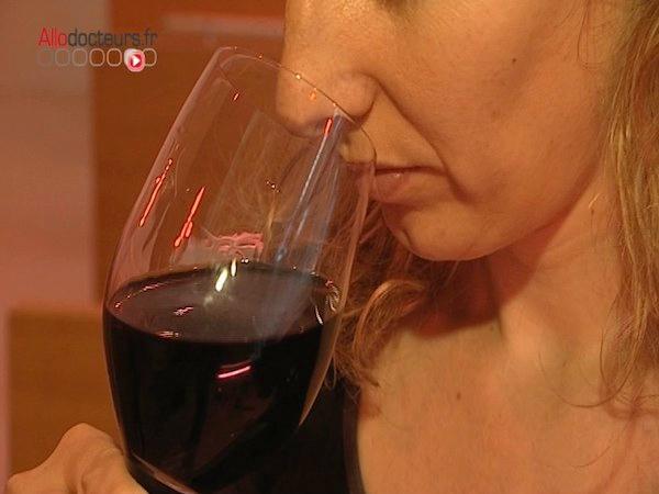 Le vin sans alcool est bon pour la santé
