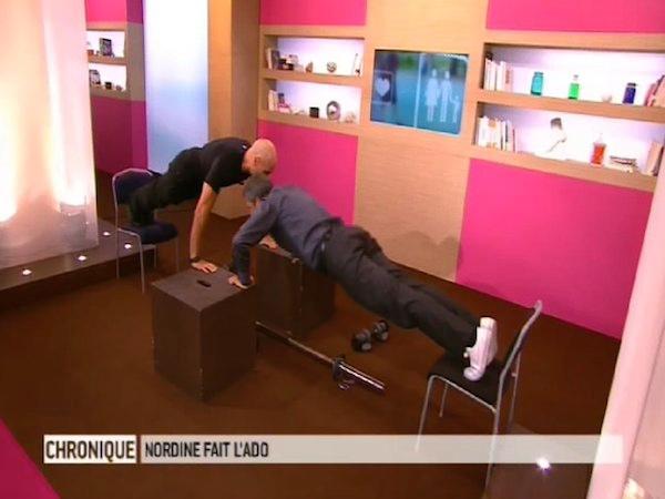 Exercice sur des chaises
