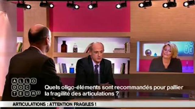 Articulations : des oligo-éléments contre la fragilité?
