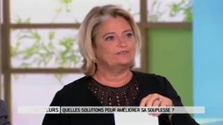 Explications et démonstrations avec Delphine Le Porquier de Vaux, kinésithérapeute
