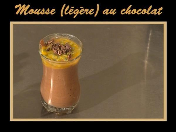 Mousse (légère) au chocolat