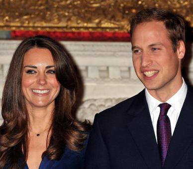 Kate Middleton et le prince William ©Press Association