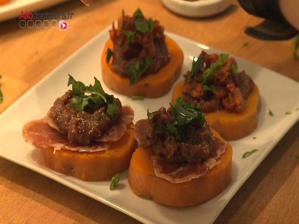 Tapas Lomo/Chorizo et leur mix de canneberges