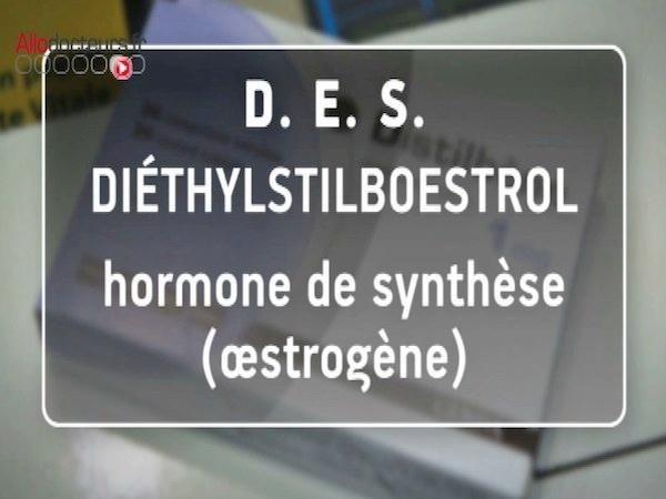 Distilbène® et Stilboestrol Borne® prescrits de 1950 à 1977