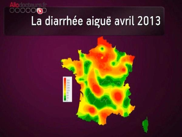 Epidémie de gastro-entérite en France - Du 8 au 14 avril 2013